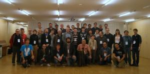 Foto de grup de la Viquitrobada 2013
