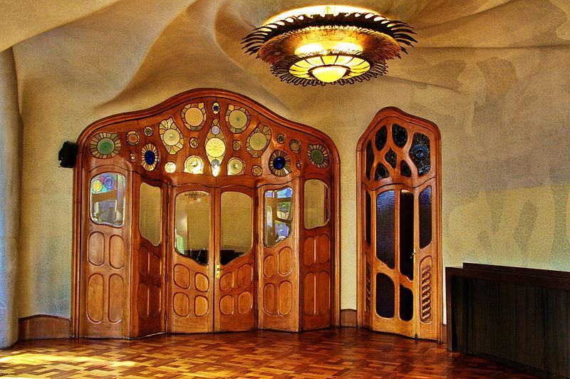 Saló principal de la Casa Batlló (Autor: Amadalvarez, CC-BY-SA)