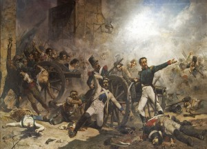 Defensa del parc d'artilleria de Monteleón de Joaquín Sorolla