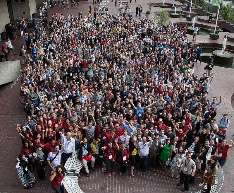Foto de grup de Wikimania 2014
