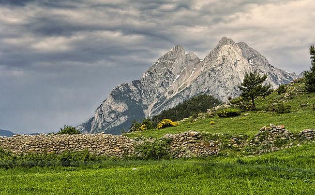 Imatge del Pedraforca, guanyadora de Wiki Loves Earth Catalunya 2014