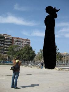 Dona i ocell, de Joan Miró, no es podran veure més a la Viquipèdia si s'aprova l'informe del Parlament Europeu