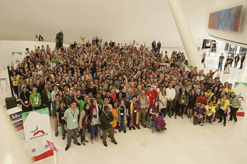 Foto de grup de Wikimania 2015