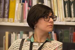 Laura Manzanero, a la Viquitrobada 2014