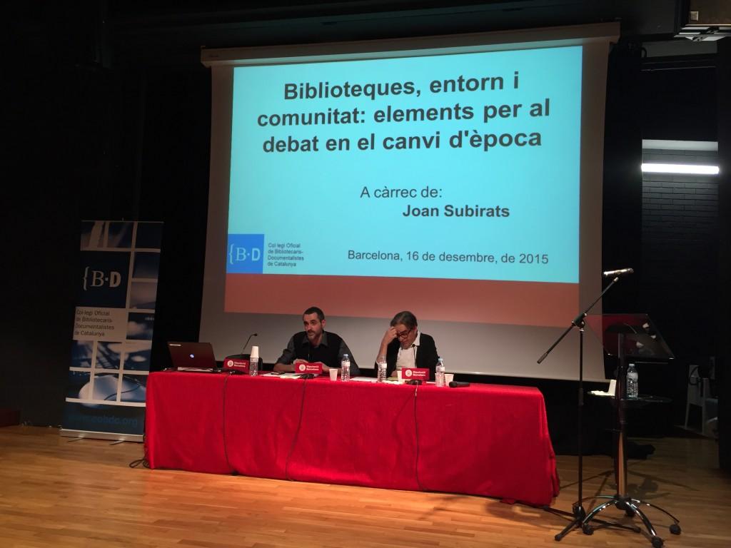 Ferran Burguillos i Joan Subirats