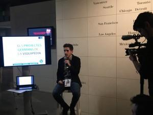 Xerrada sobre els projectes germans en català de Wikimedia