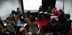 Sessió d'economia col·laborativa feminista, amb l'Ester Solé com a ponent