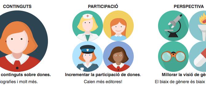 La Viquipèdia en català aconsegueix el repte d'arribar als 20.000 articles de dones abans del 31 de desembre